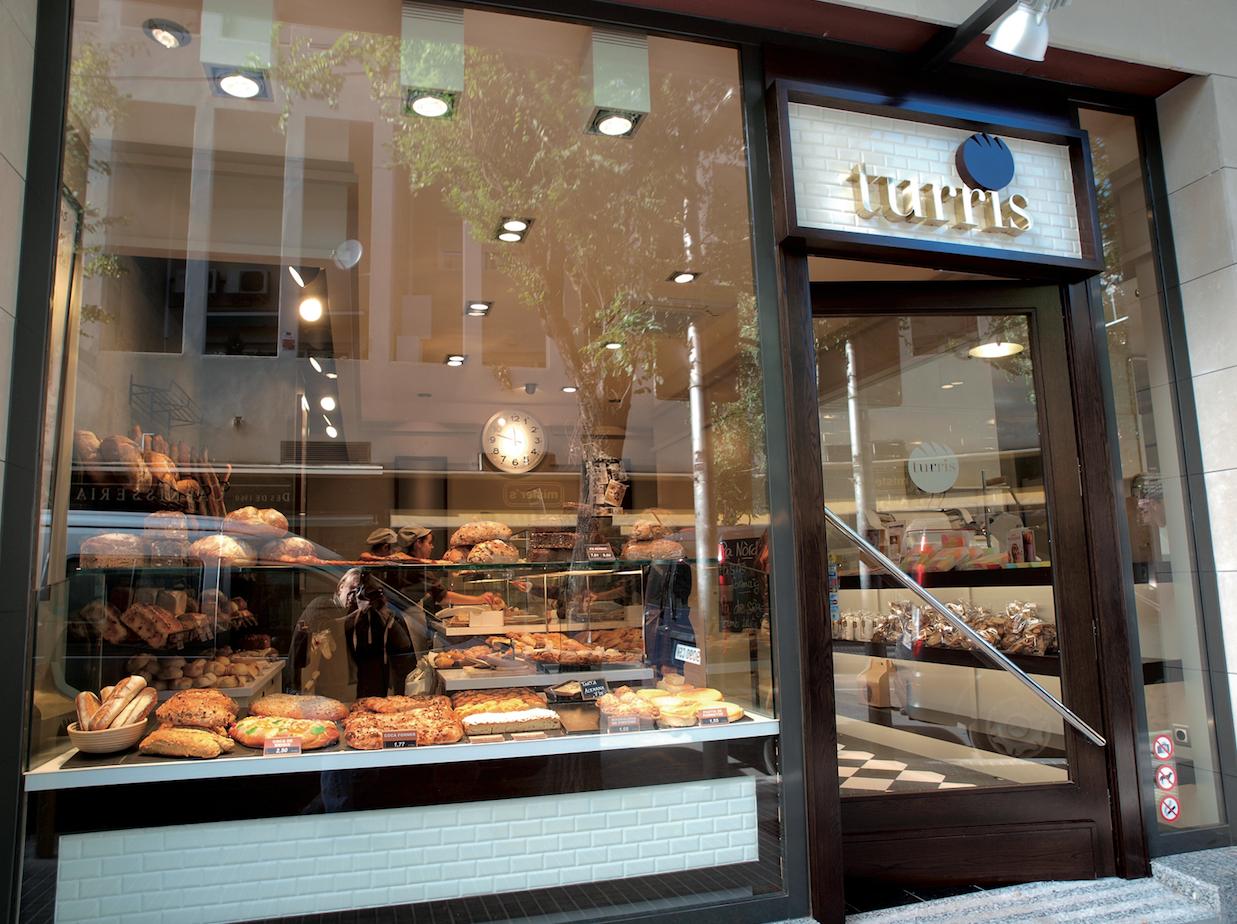 La marca Turris compta amb dues botigues a Sant Cugat, a la imatge la del centre FOTO: A. Ribera