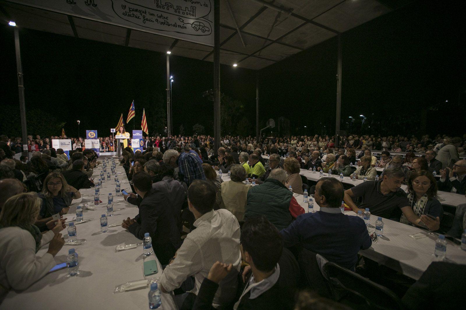 L'alcaldessa, Mercè Conesa, durant el seu discurs. FOTO: Lali Puig