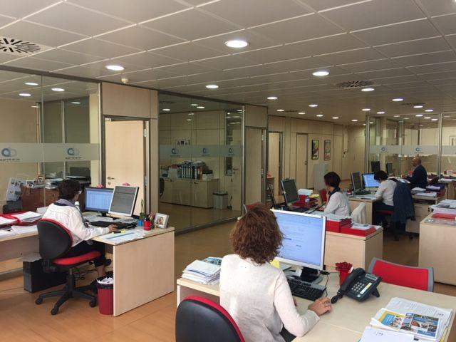 Interior de les oficines d'Alertis Brok: Cedida