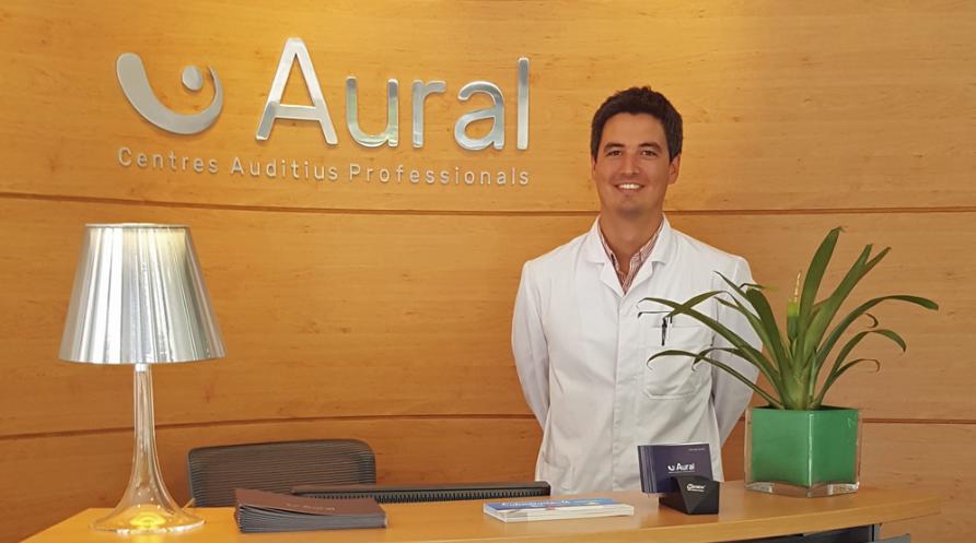 Pablo Gómez, l'audioprotetista d'Aural a Sant Cugat FOTO: Cedida