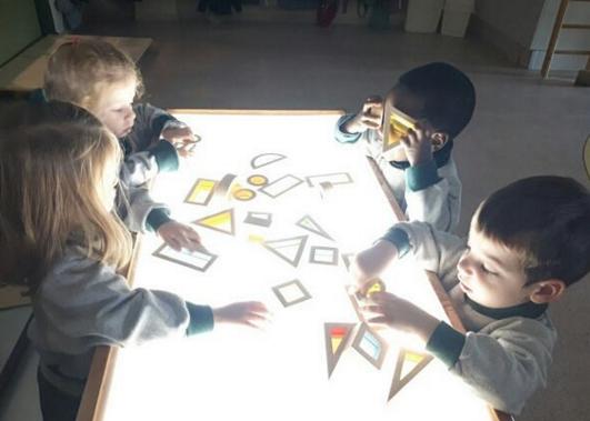 Noves metodologies didàctiques pels infantils de l'escola FOTO. Cedida