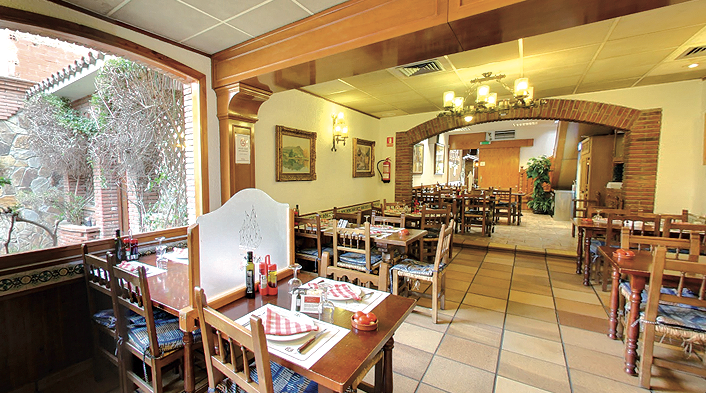 Interior del restaurant La Bolera FOTO: Cedida