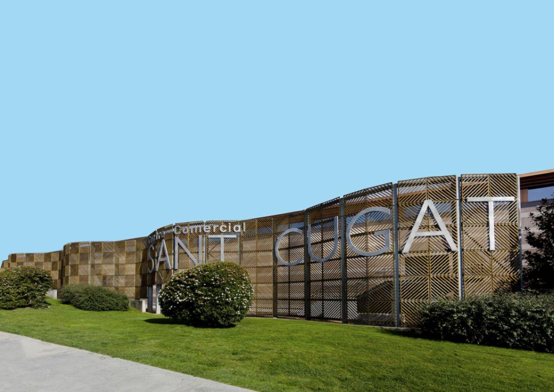 Exterior Sant Cugat Centre Comercial FOTO: Cedida