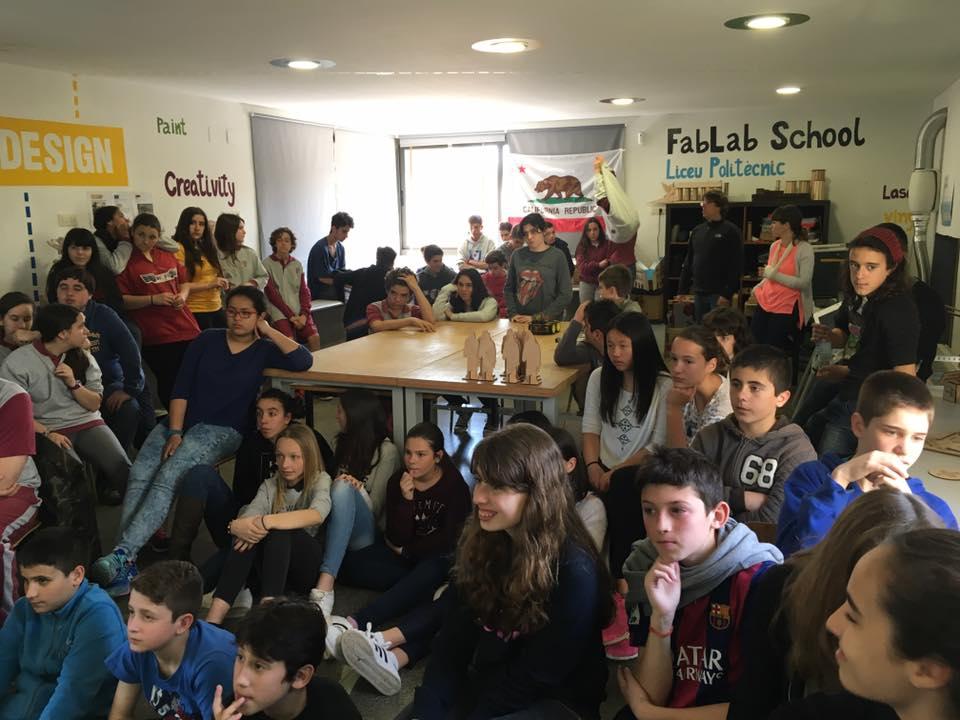 Fablab School Liceu Politècnic FOTO: Cedida
