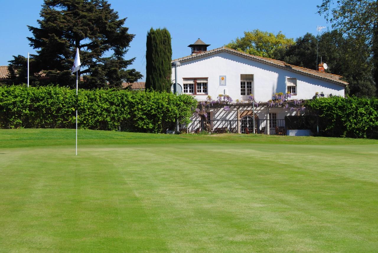 Primer camp de golf d'Espanya en tenir 18 forats FOTO. Cedida