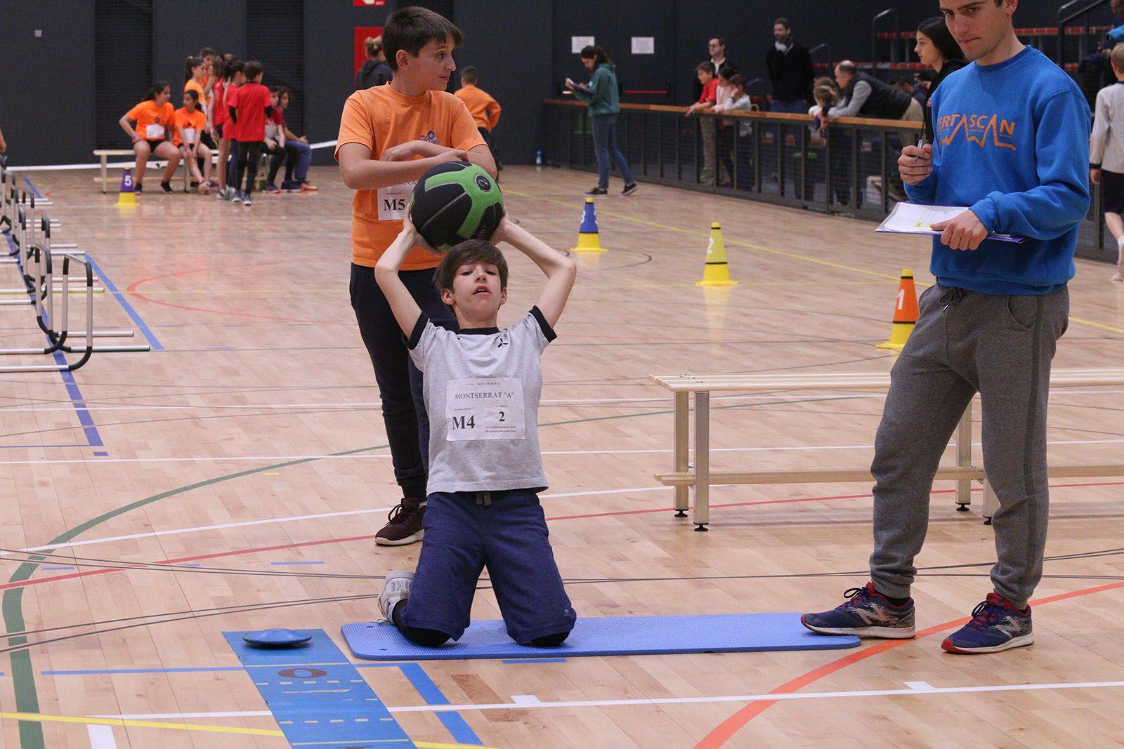 L'escola Montserrat també serà present al Torneig Nacional Jugando al Atletismo. FOTO: Lali Álvarez