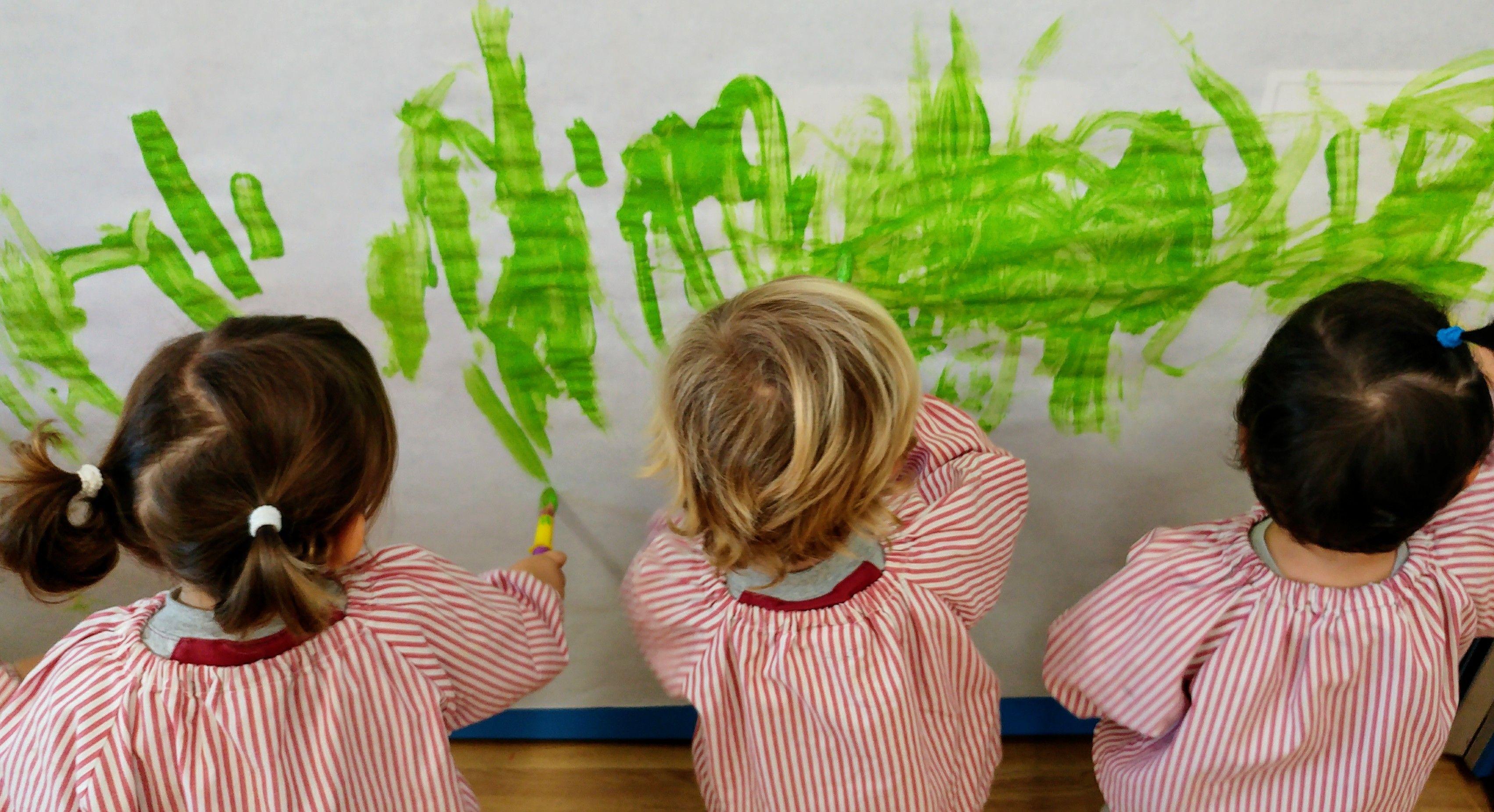 L'escola treballa pel desenvolupament afectiu, emocional, crític i creatiu dels infants FOTO: Cedida