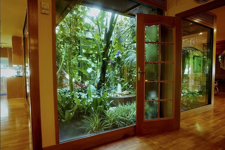 A Elia també són especialistes en jardins i patis interiors