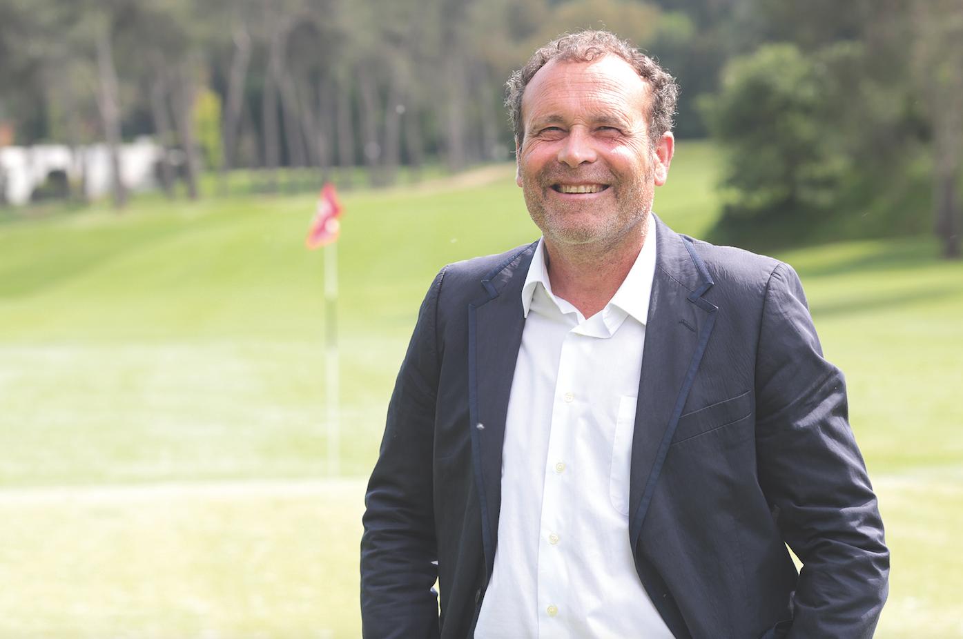 Sergi Corretja, és el gerent del Club Golf Sant Cugat FOTO: A. Ribera