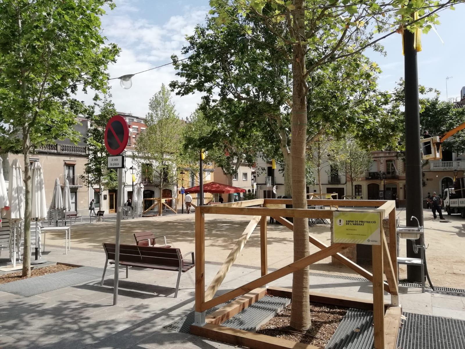 Imatge De La Plaça Barcelona. FOTO: TOT Sant Cugat