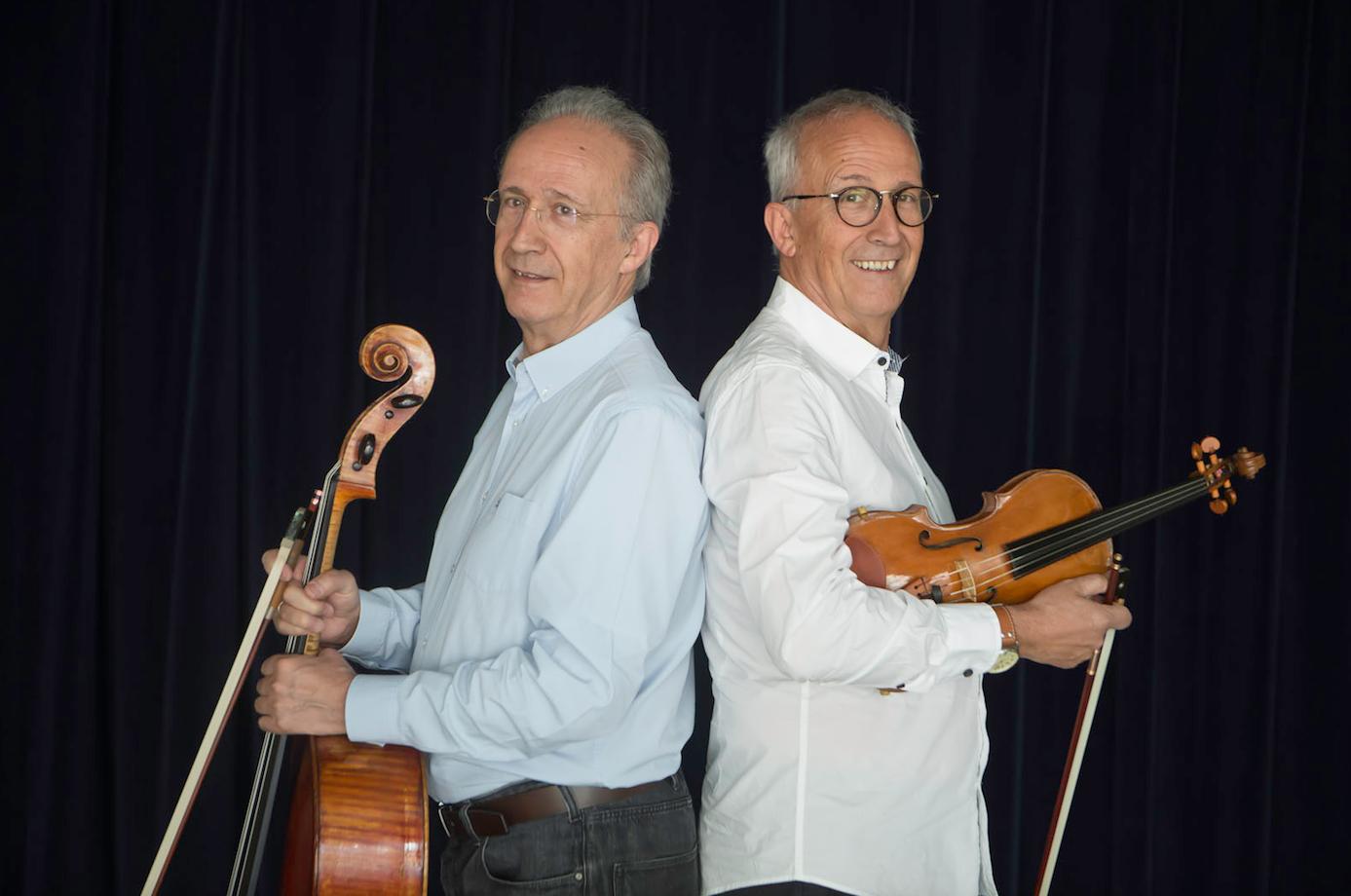 Lluís i Gerard Claret, convidats per la revista Món Sant Cugat, protagonitzaran un concert el 27 de juny al Teatre-Auditori FOTO: Artur Ribera