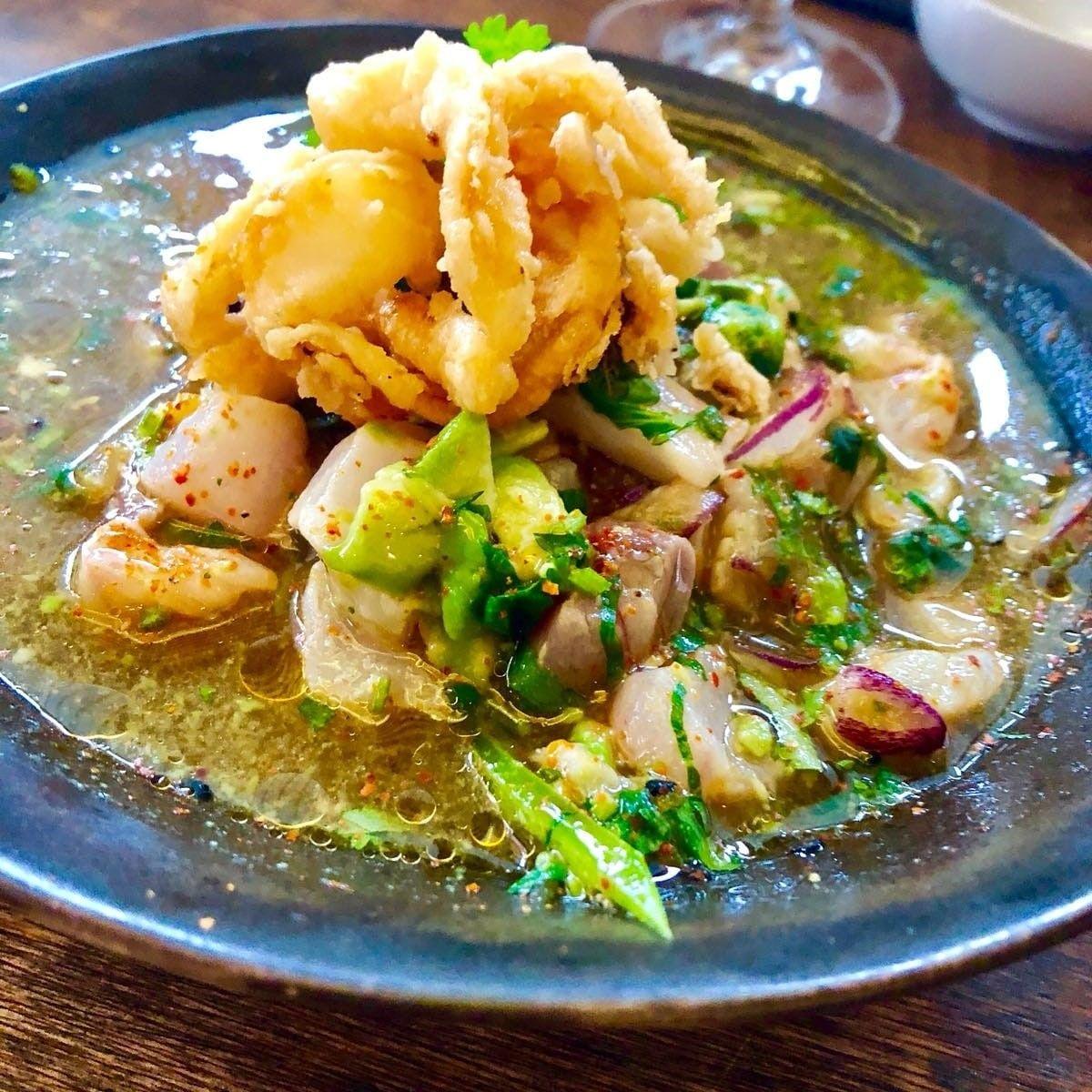 Menjar japonés en un espai modern i acollidor FOTO: Cedida