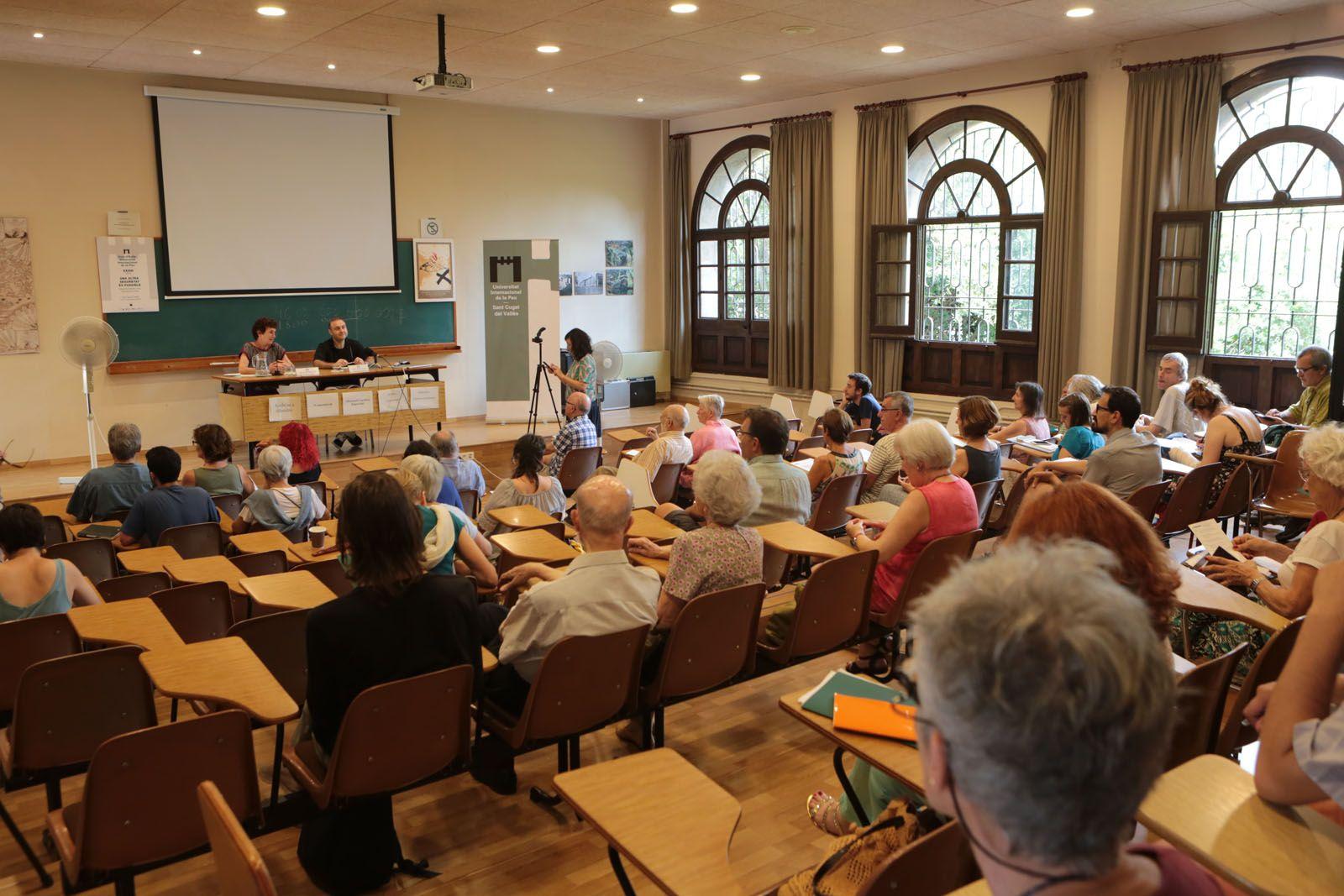 El Centre Borja ha acollit un any més el curs d'estiu de la Unipau FOTO: Artur Ribera