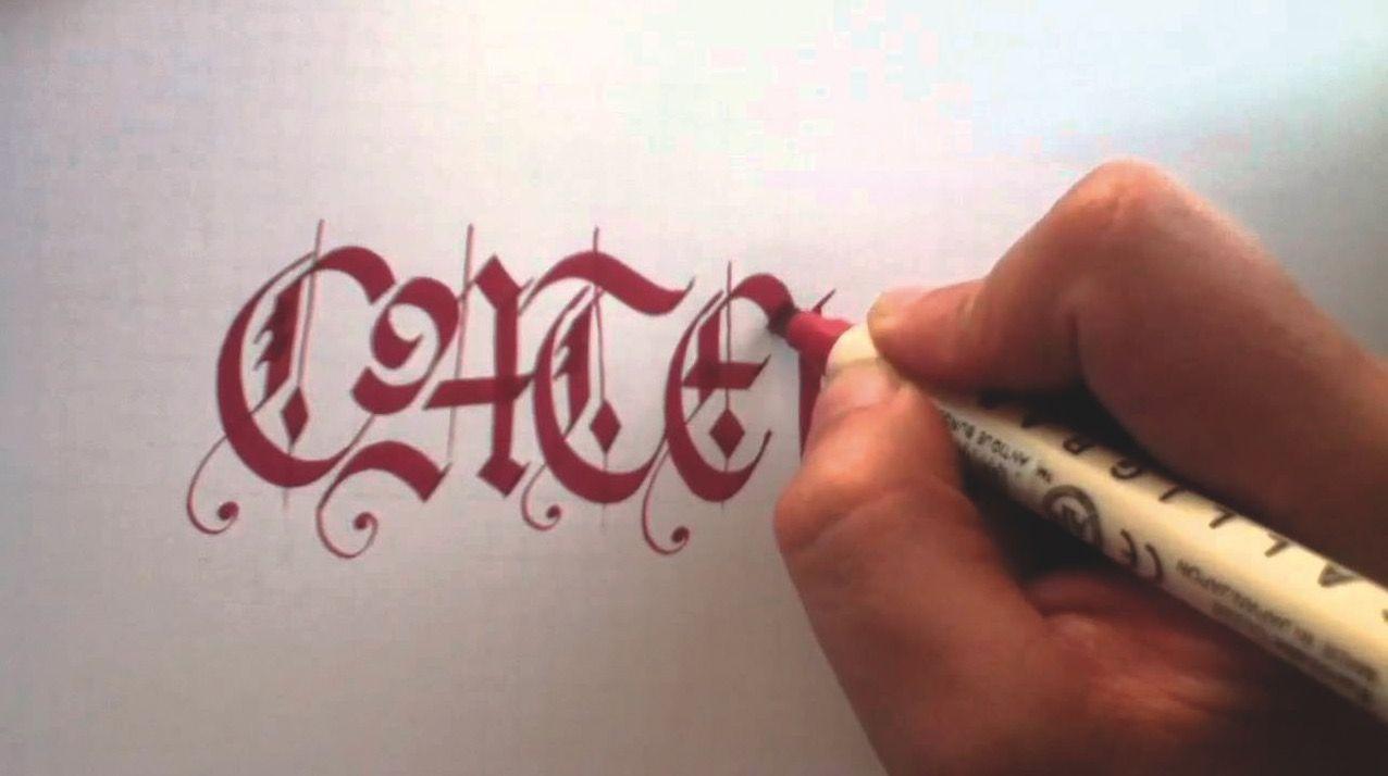 Taller d'escriptura gòtica. FOTO: Cedida