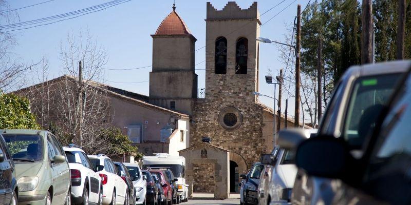 Sant Cebrià al sol (Valldoreix) FOTO: Lali Puig