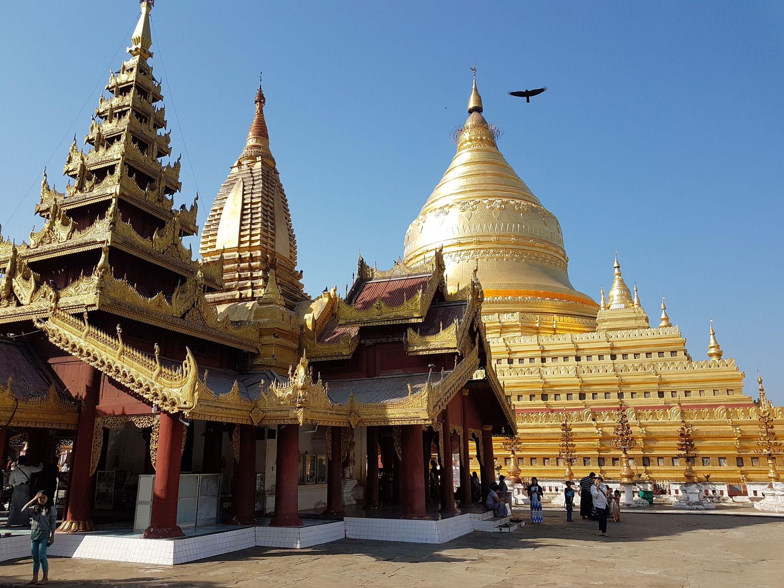 """José Antonio Lorenz   """"Pagoda  de Shwezigon"""" (Categoria Viatges)"""