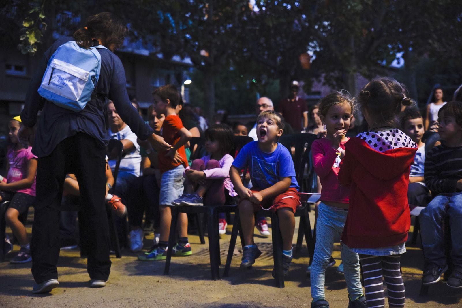 Pregó de Festa Major del barri Monestir Sant Francesc. Foto: Bernat Millet.