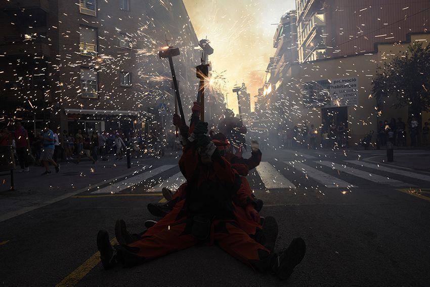Festa Major del barri Monestir Sant Francesc. Foto: Bernat Millet.