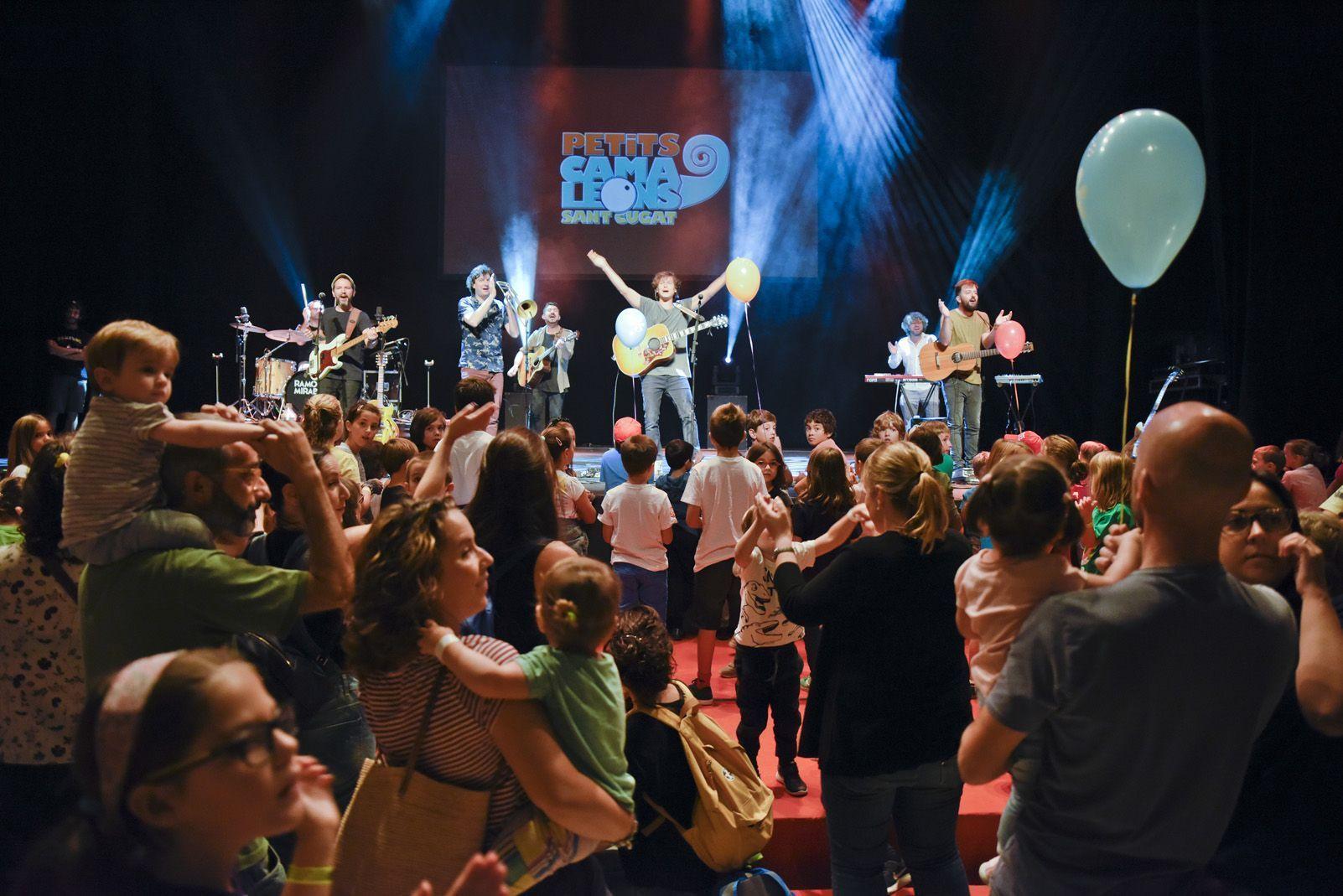 Ramon Mirabet al Festival de Música Petits Camaleons. Foto: Bernat Millet.