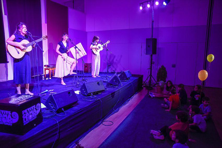 Marala al Festival de Música Petits Camaleons. Foto: Bernat Millet.