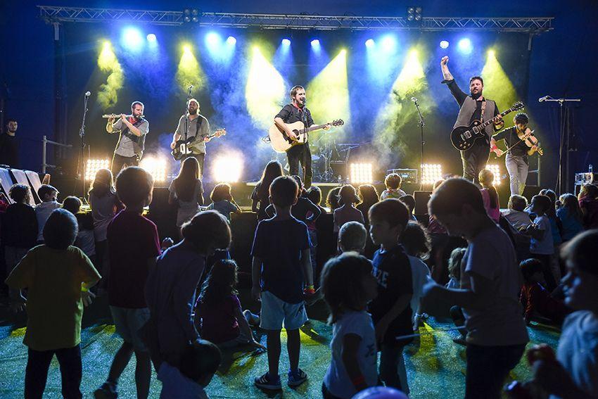 Ebri Knight al Festival de Música Petits Camaleons. Foto: Bernat Millet.