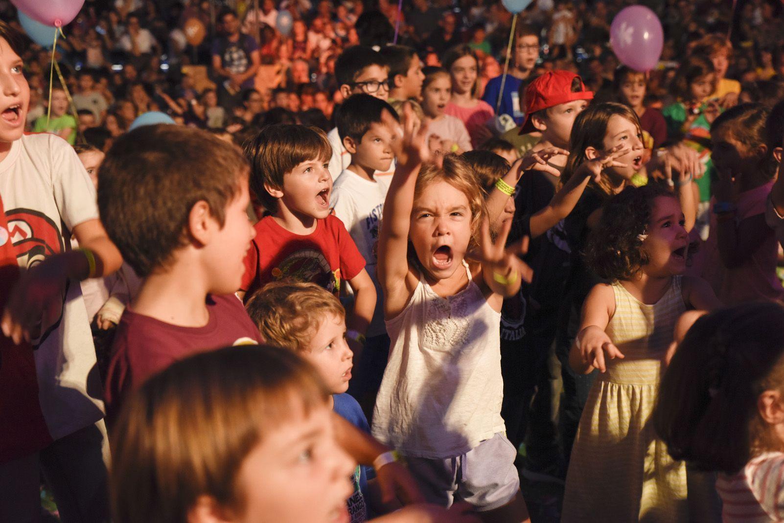 El Pot Petit al Festival de Música Petits Camaleons. Foto: Bernat Millet.