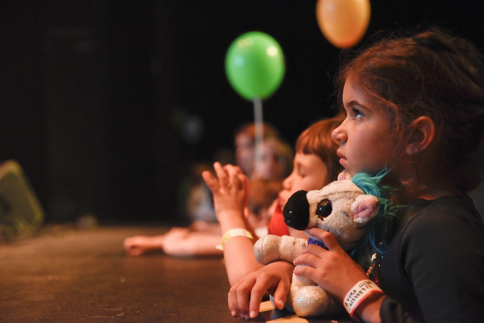 El Petit de Cal Eril al Festival de Música Petits Camaleons. Foto: Bernat Millet.