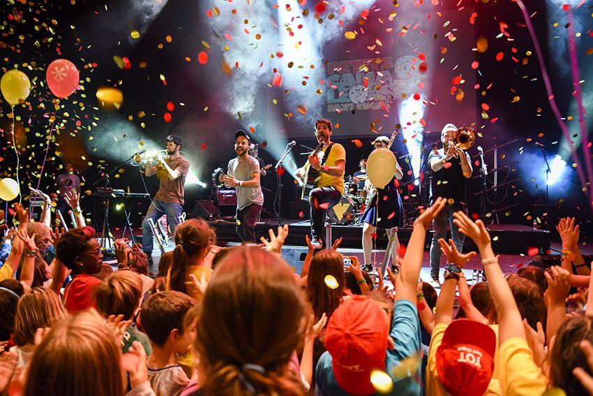 Els Catarres al Festival de Música Petits Camaleons. Foto: Bernat Millet.