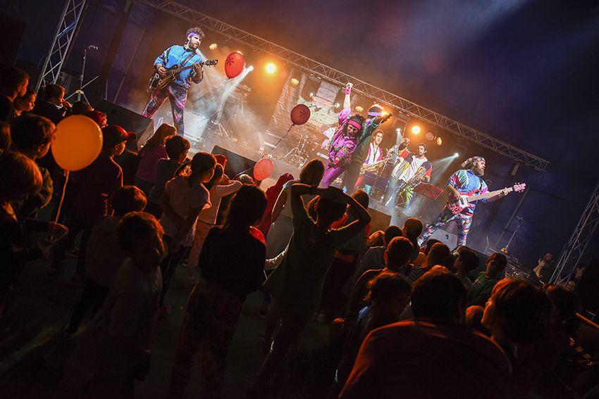 The Txandals al Festival de Música Petits Camaleons. Foto: Bernat Millet.