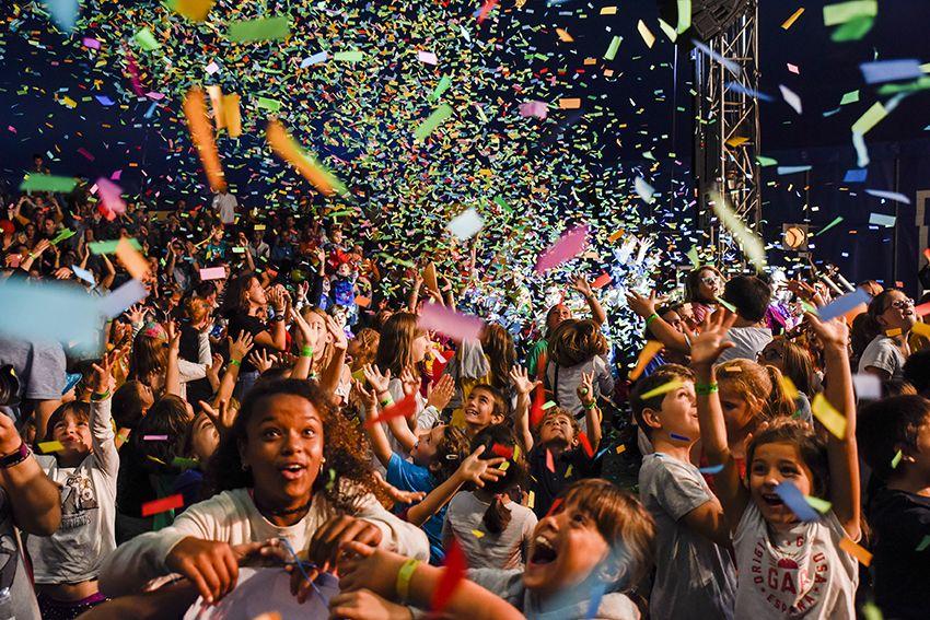 Buhosal Festival de Música Petits Camaleons. Foto: Bernat Millet.