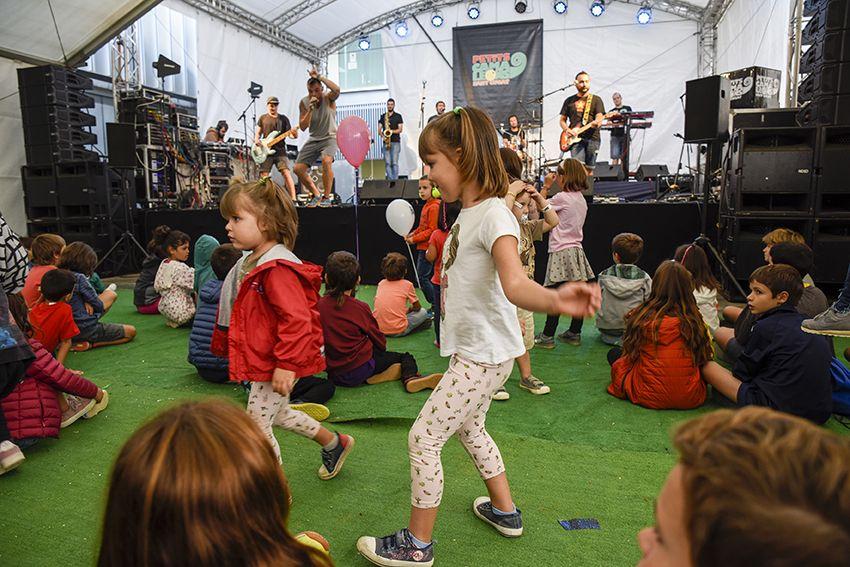 Xeic! al Festival de Música Petits Camaleons. Foto: Bernat Millet.