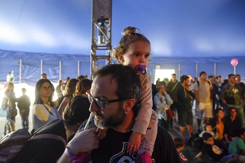 El Hijo del Flaco al Festival de Música Petits Camaleons. Foto: Bernat Millet.