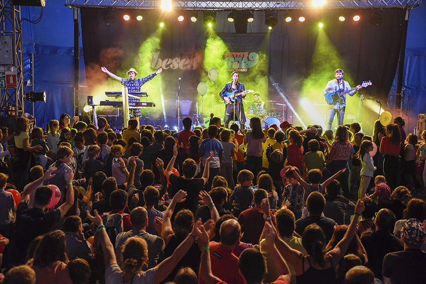 Obeses al Festival de Música Petits Camaleons. Foto: Bernat Millet.