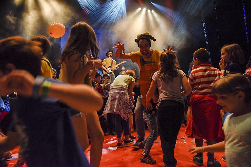 Xiula al Festival de Música Petits Camaleons. Foto: Bernat Millet.