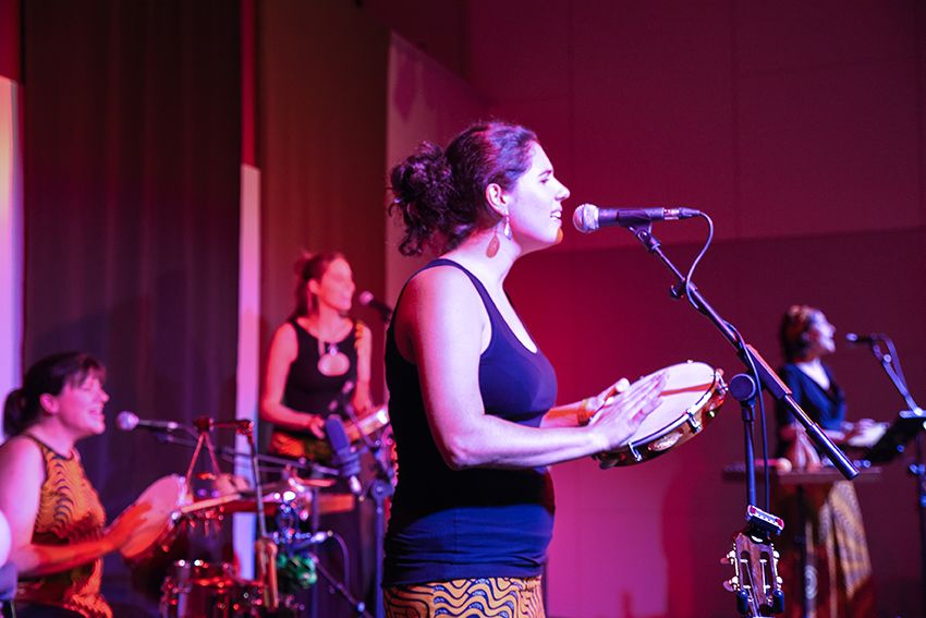 Maio de Sal al Festival de Música Petits Camaleons. Foto: Bernat Millet.