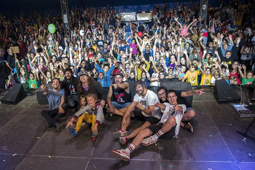 Buhos al Festival de Música Petits Camaleons. Foto: Bernat Millet.