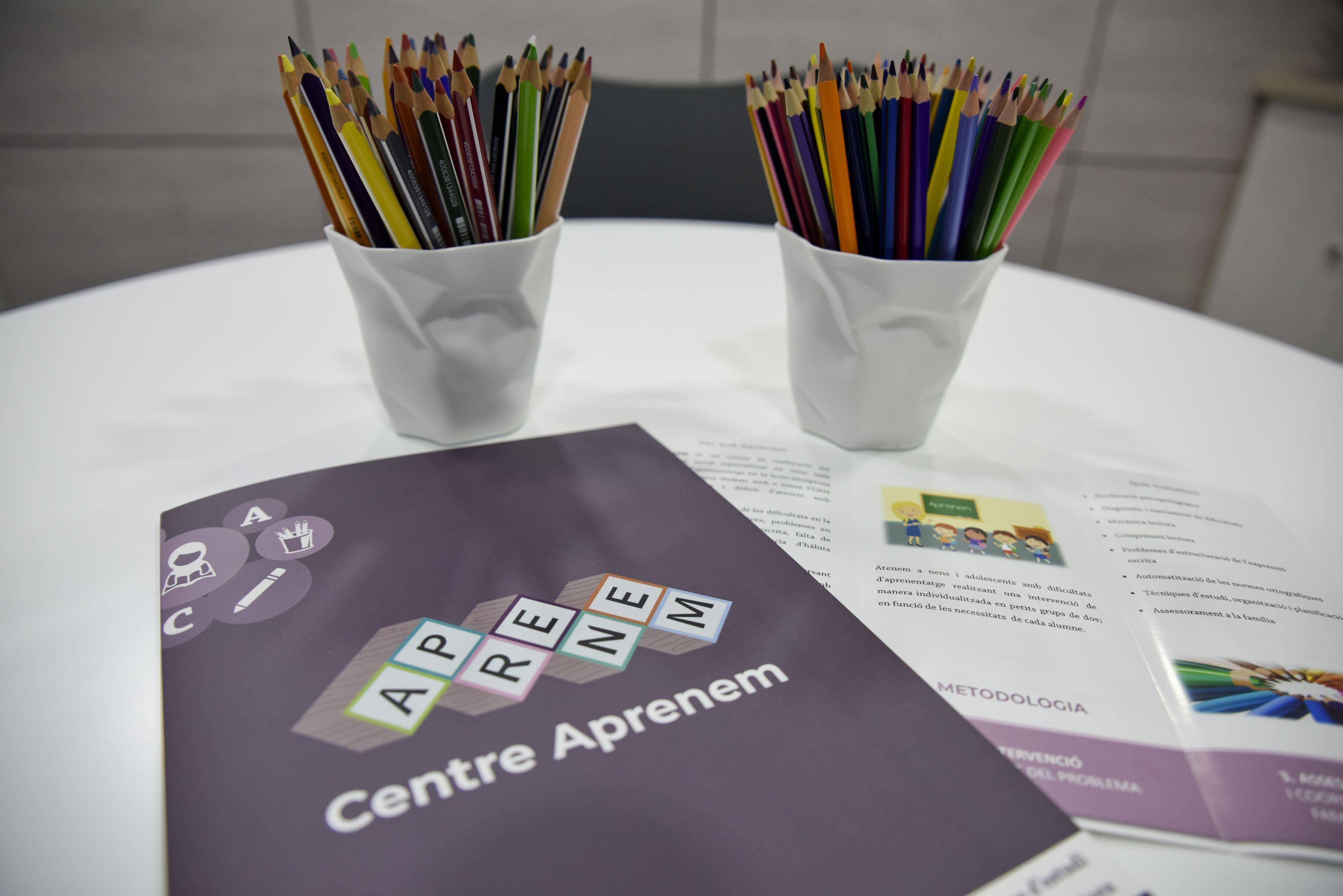 Material Centre Aprenem FOTO: Bernat Millet
