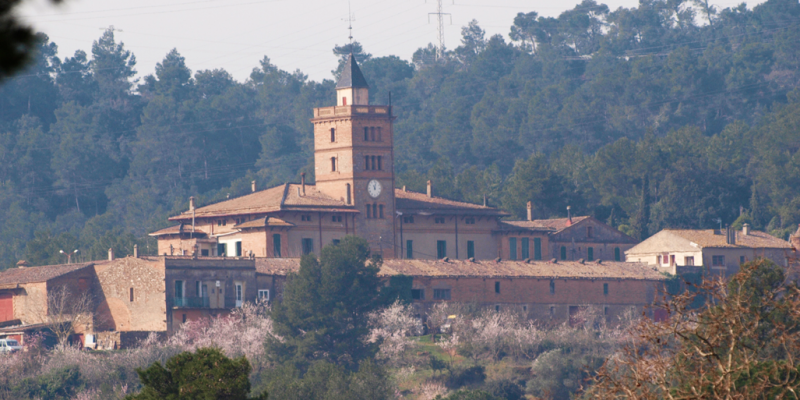 La masia de Can Monmany a Valldoreix FOTO: Artur Ribera