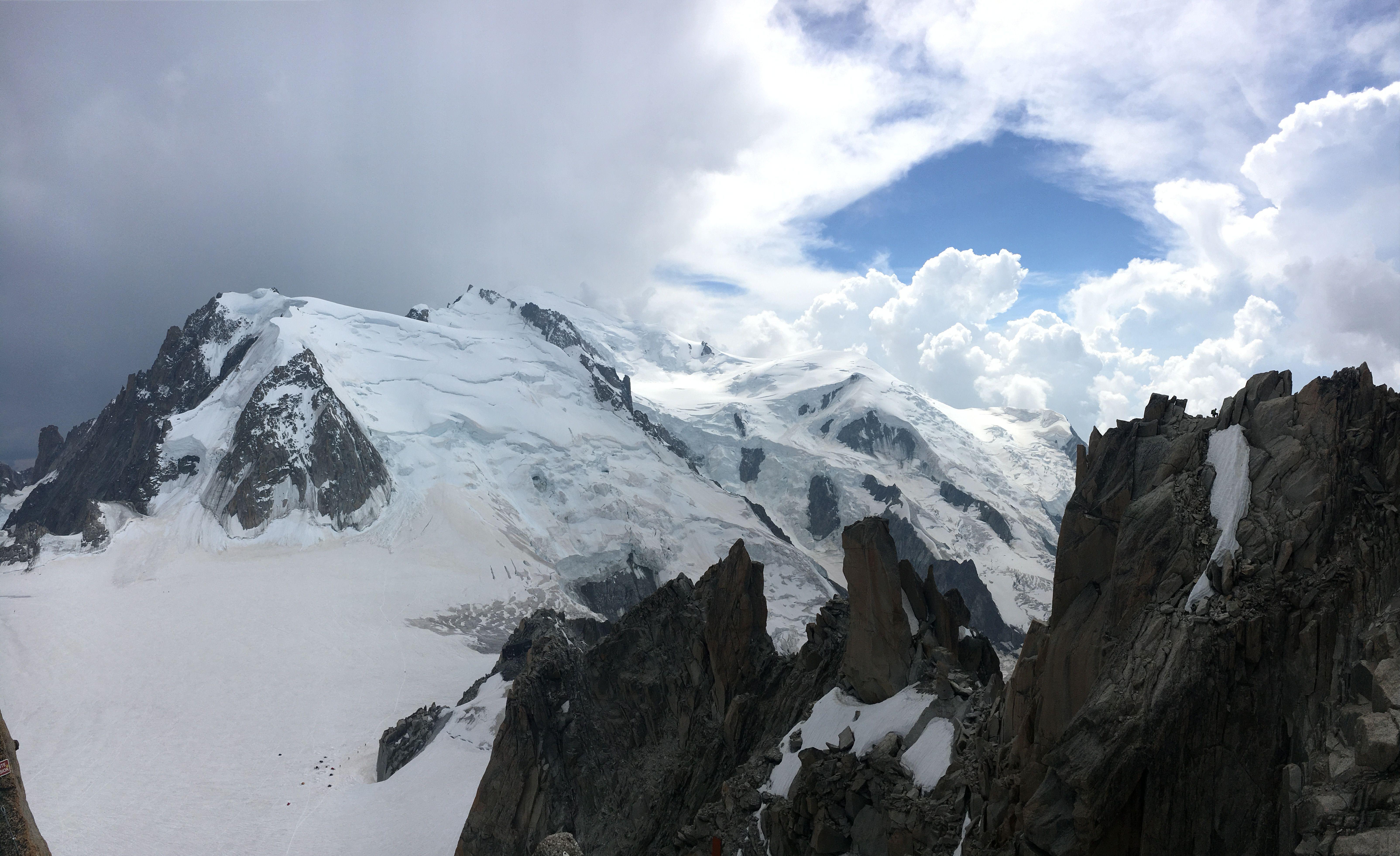 "Albert Planas ""El cim del Mont Blanc"""