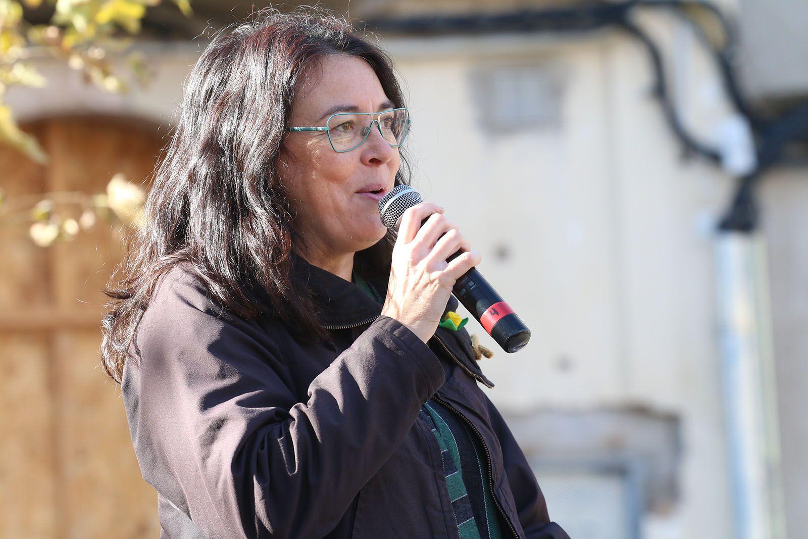 Presentació de Mireia Ingla de ERC com a alcaldable. Foto: Lali Álvarez