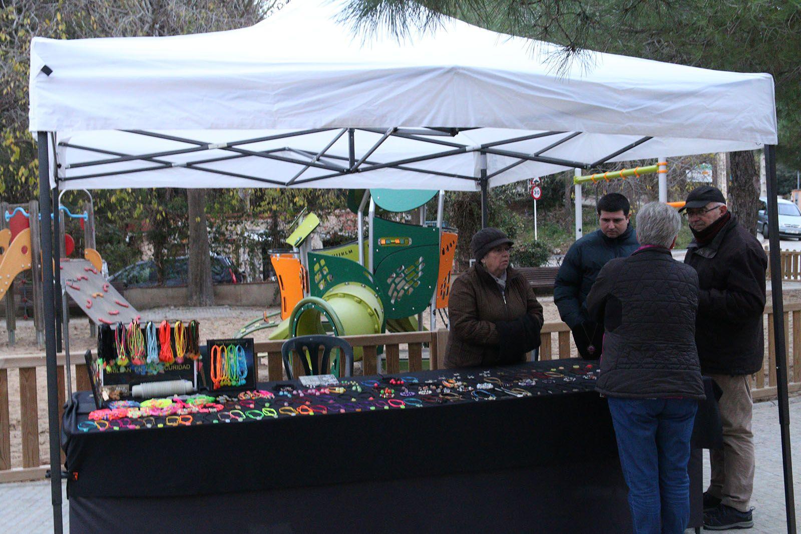 La fira de Santa Llúcia a Les Planes. Foto: Lali Álvarez