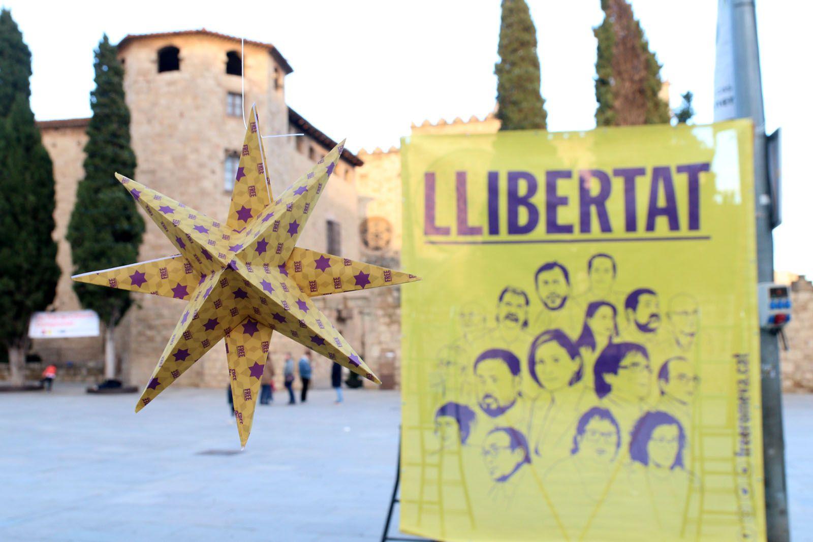 Acte en suport a Romeva i als presos polítics a Sant Cugat. Foto: Lali Álvarez