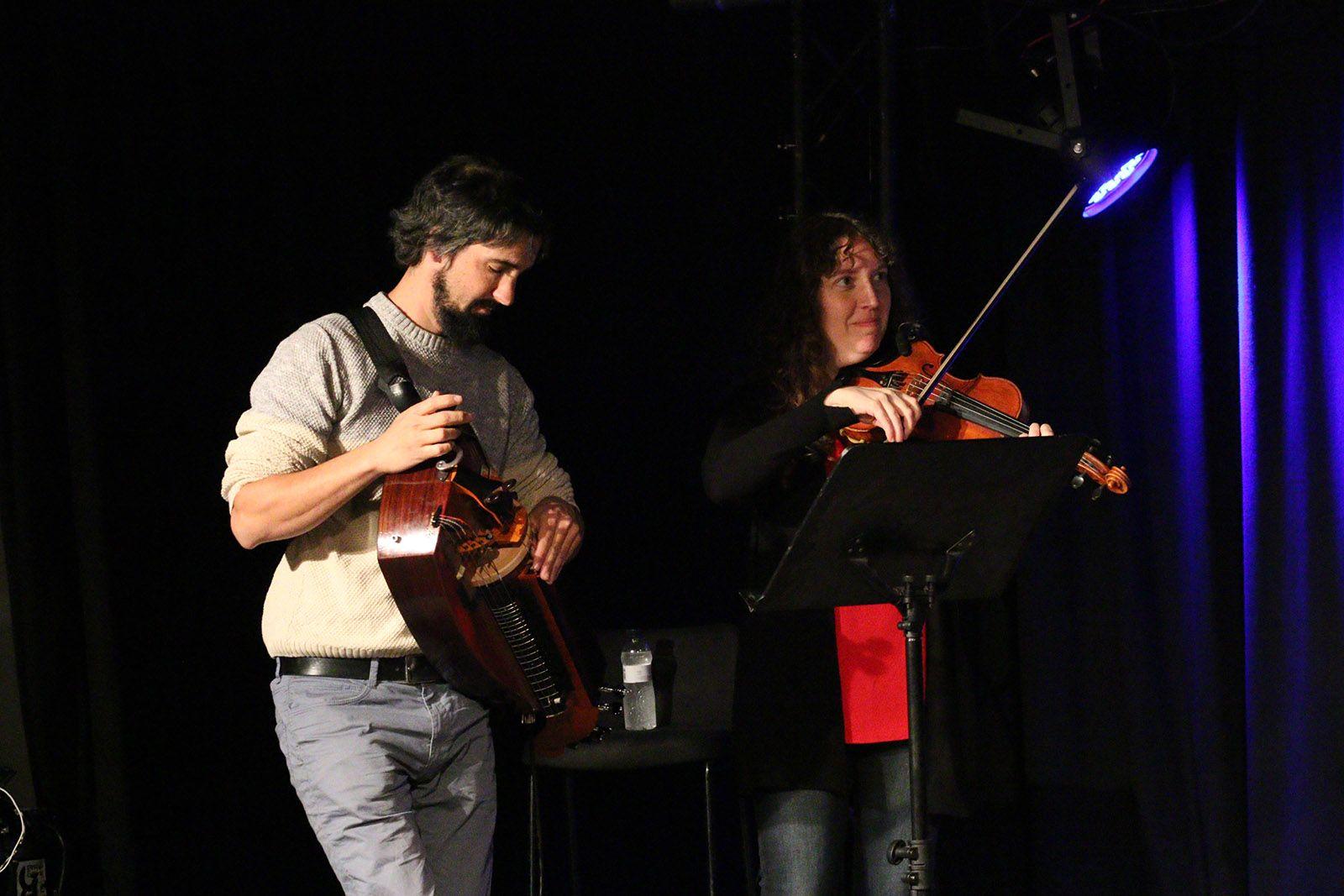 Punt de trobada de l'Escola de música tradicional. Foto: Lali Álvarez