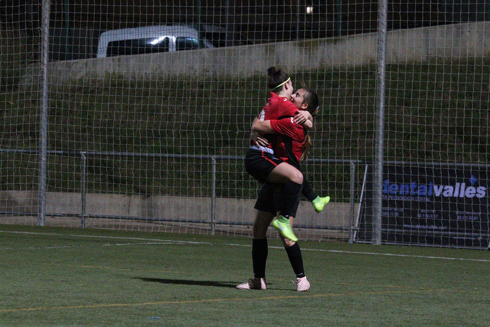 Lliga de futbol femení: Sant Cugat FC-Cerdanyola del Vallès CF. Foto: Lali Álvarez
