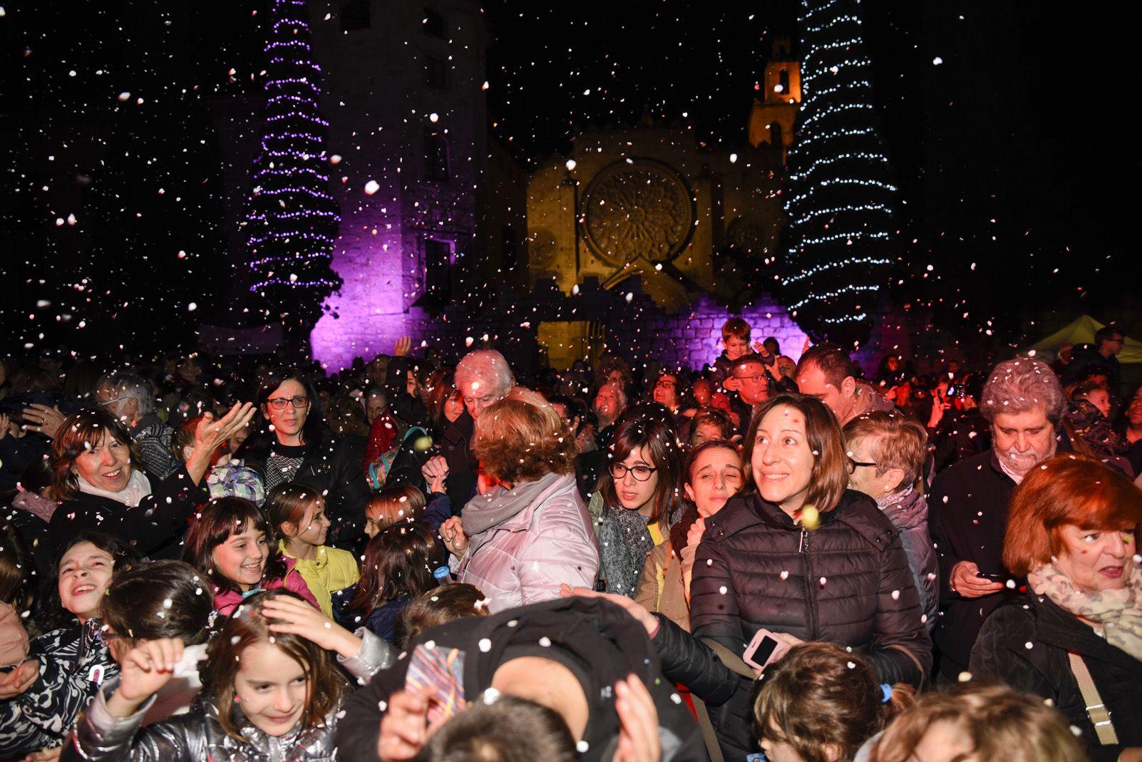 Encesa de llums de Nadal. Foto: Bernat Millet.