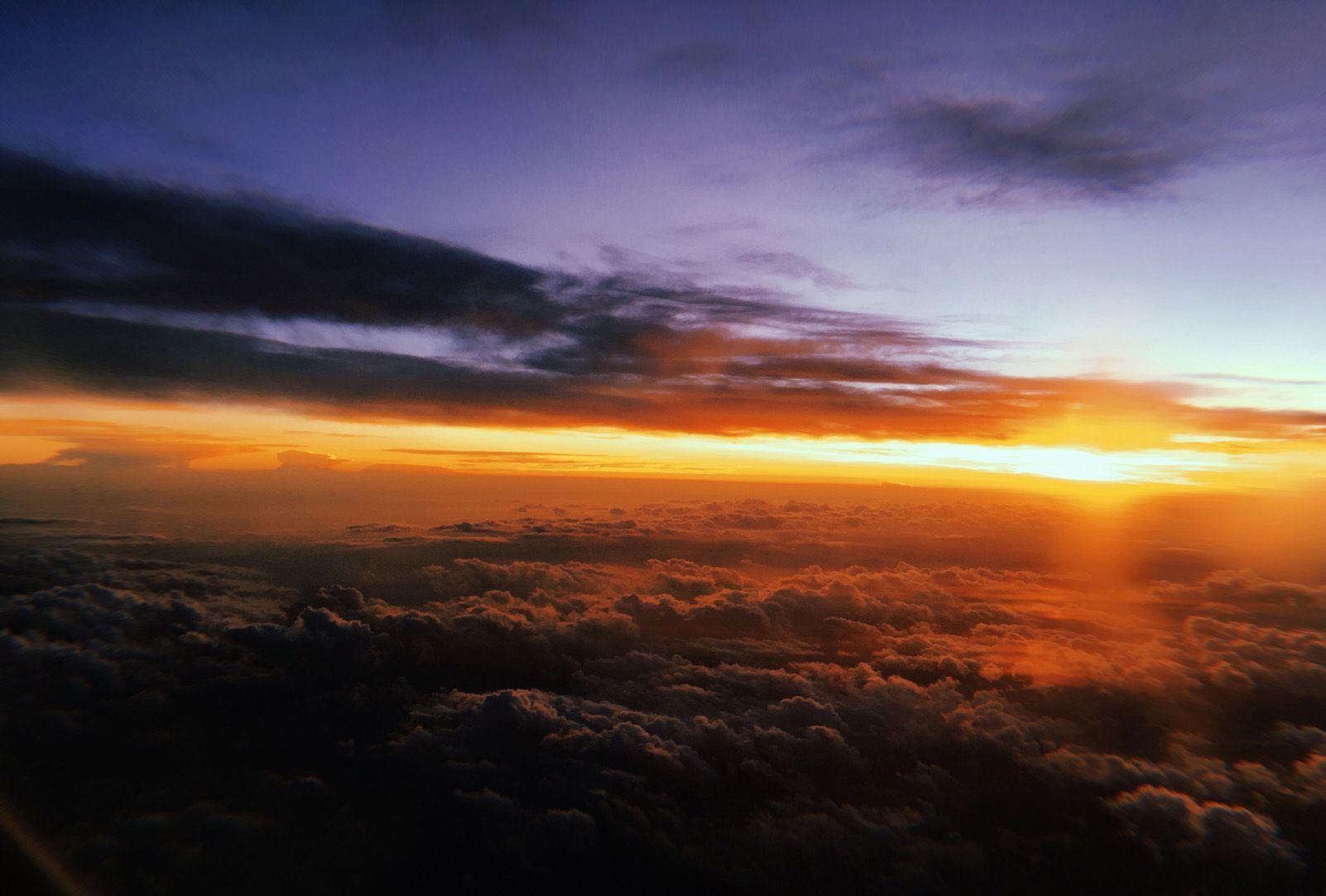 "Fiona Donovan Navarro ""Airplane sunsets"""