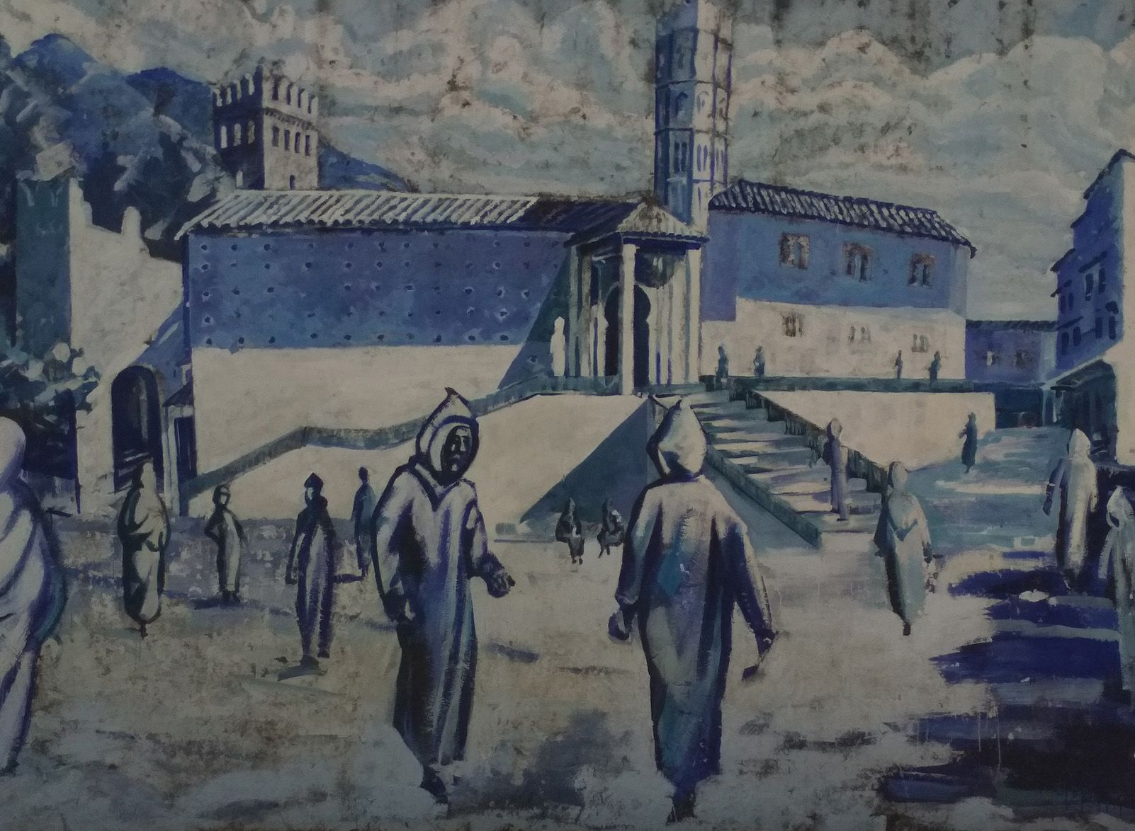 """Jamila Ajribach """"Medina azul"""""""