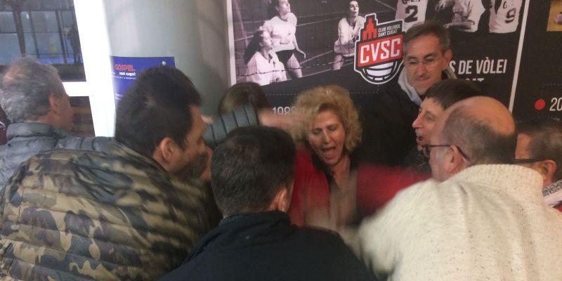 Núria Terribas guanya amb claredat les eleccions del Club Voleibol sant Cugat