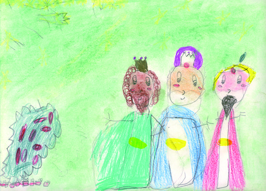 Finalistes del concurs de postals de reis