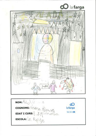 Les nadales de l'escola La Farga